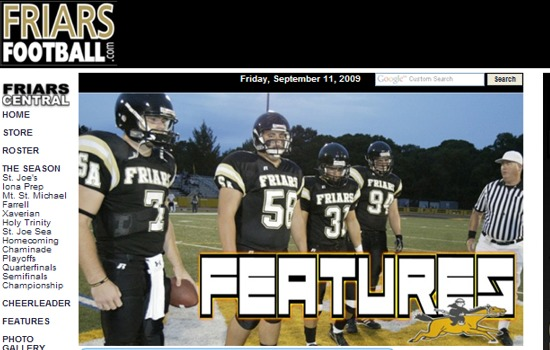 Friars Football Features 2007 